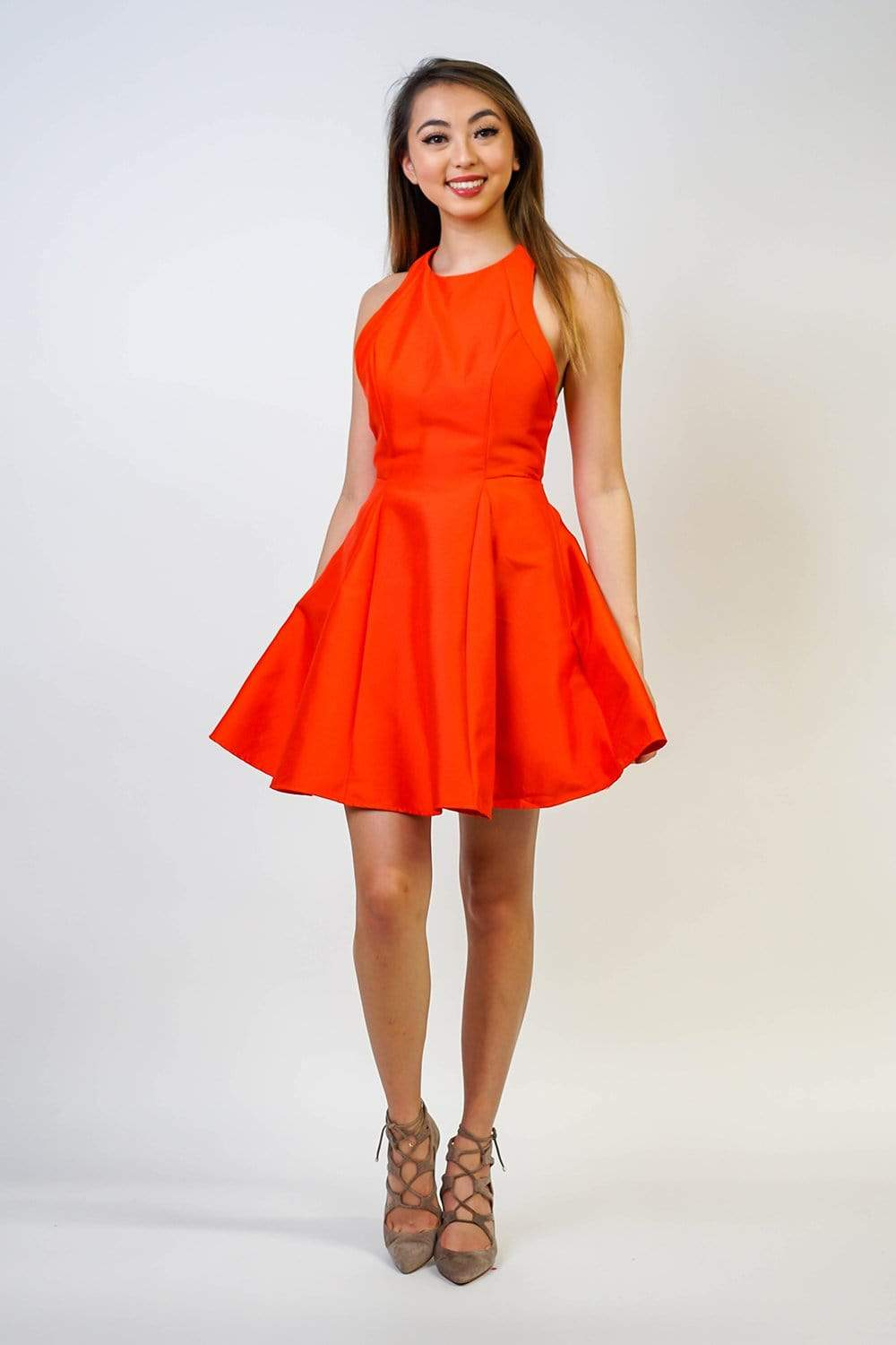 Do+Be DRESS Open Back Skater Dress