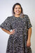 DRESS Plus Size Leopard Shift Dress - Chloe Dao