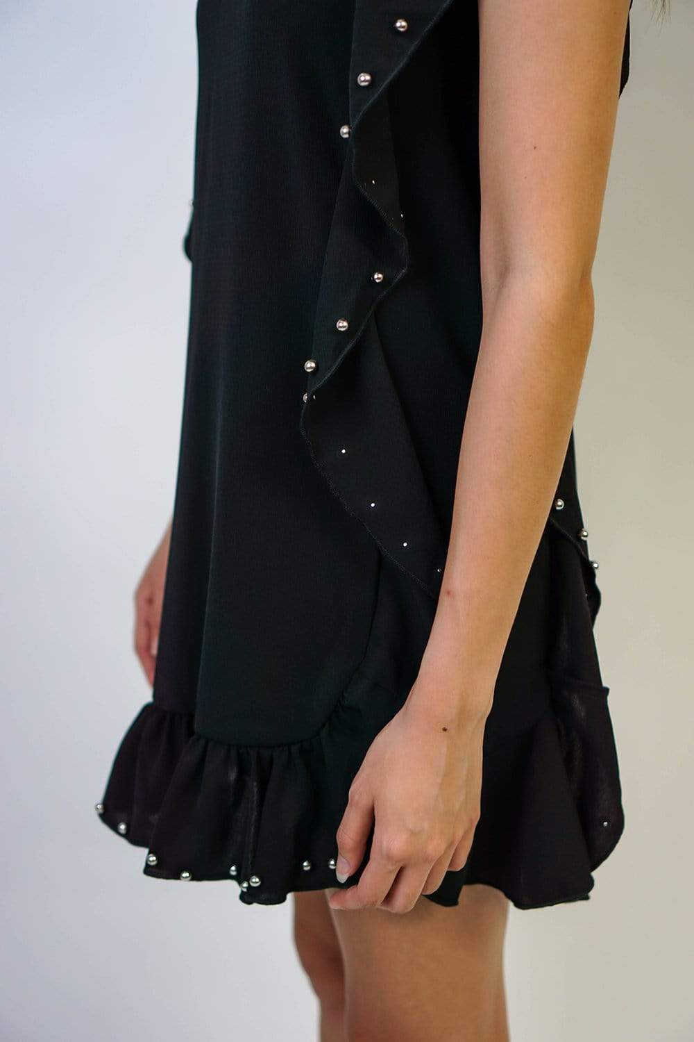 Rock and Roll Studded Shift Dress