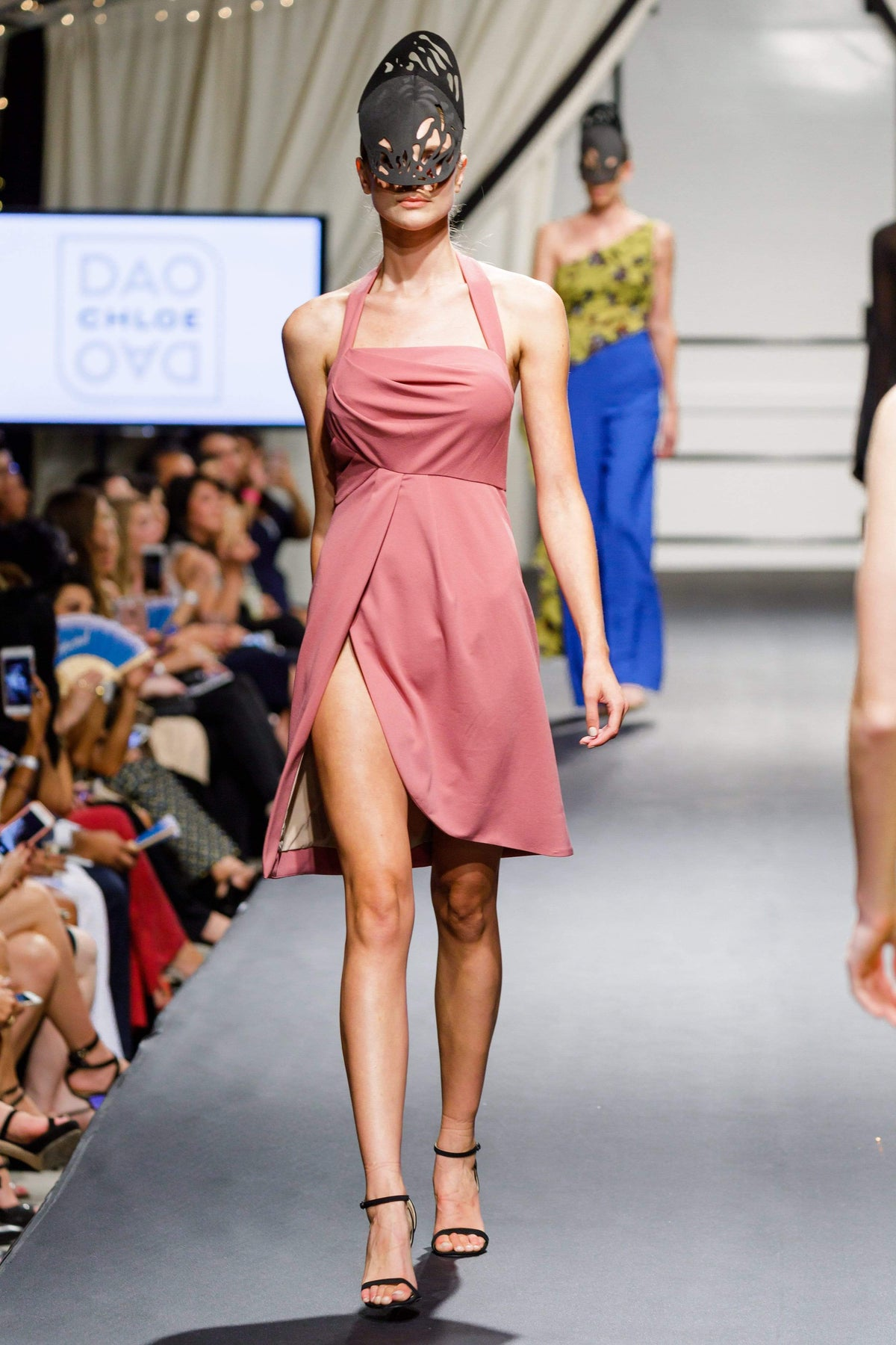 Dusty Pink Dress - Chloe Dao