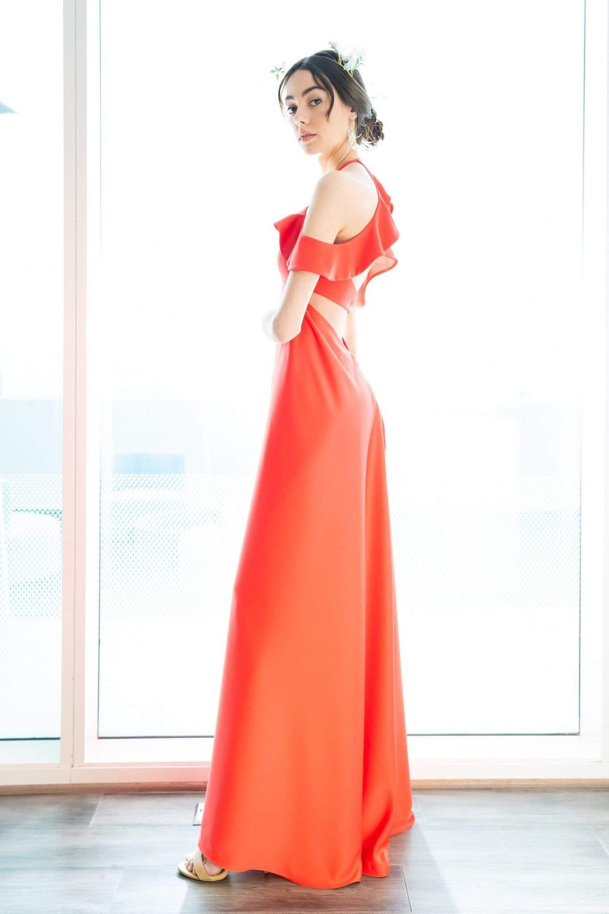 Kai Gown Living Coral