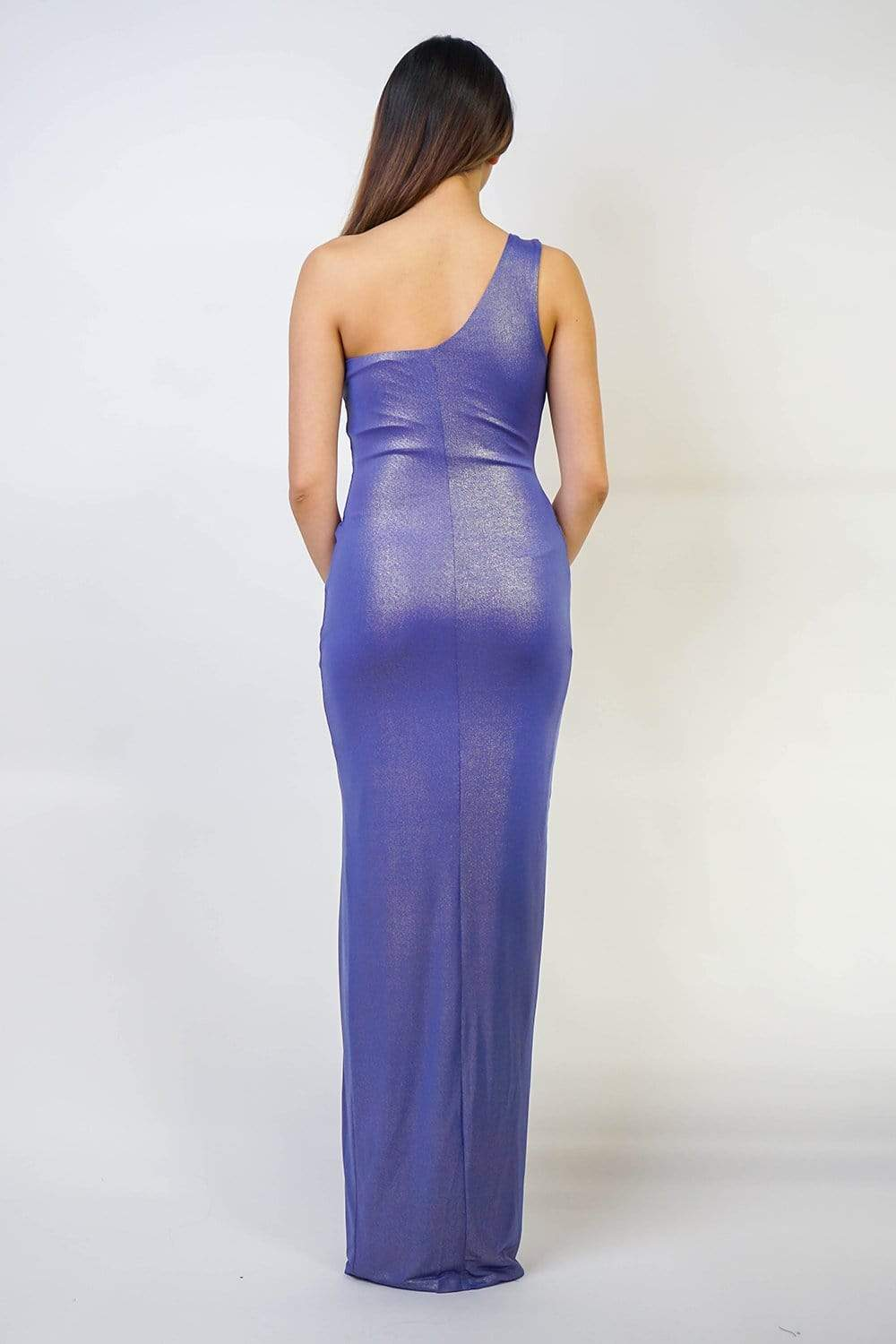 GOWN Shiny Periwinkle Gown - Chloe Dao