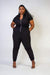 JUMPSUIT Plus Top Gun Bomber Jumpsuit - Chloe Dao