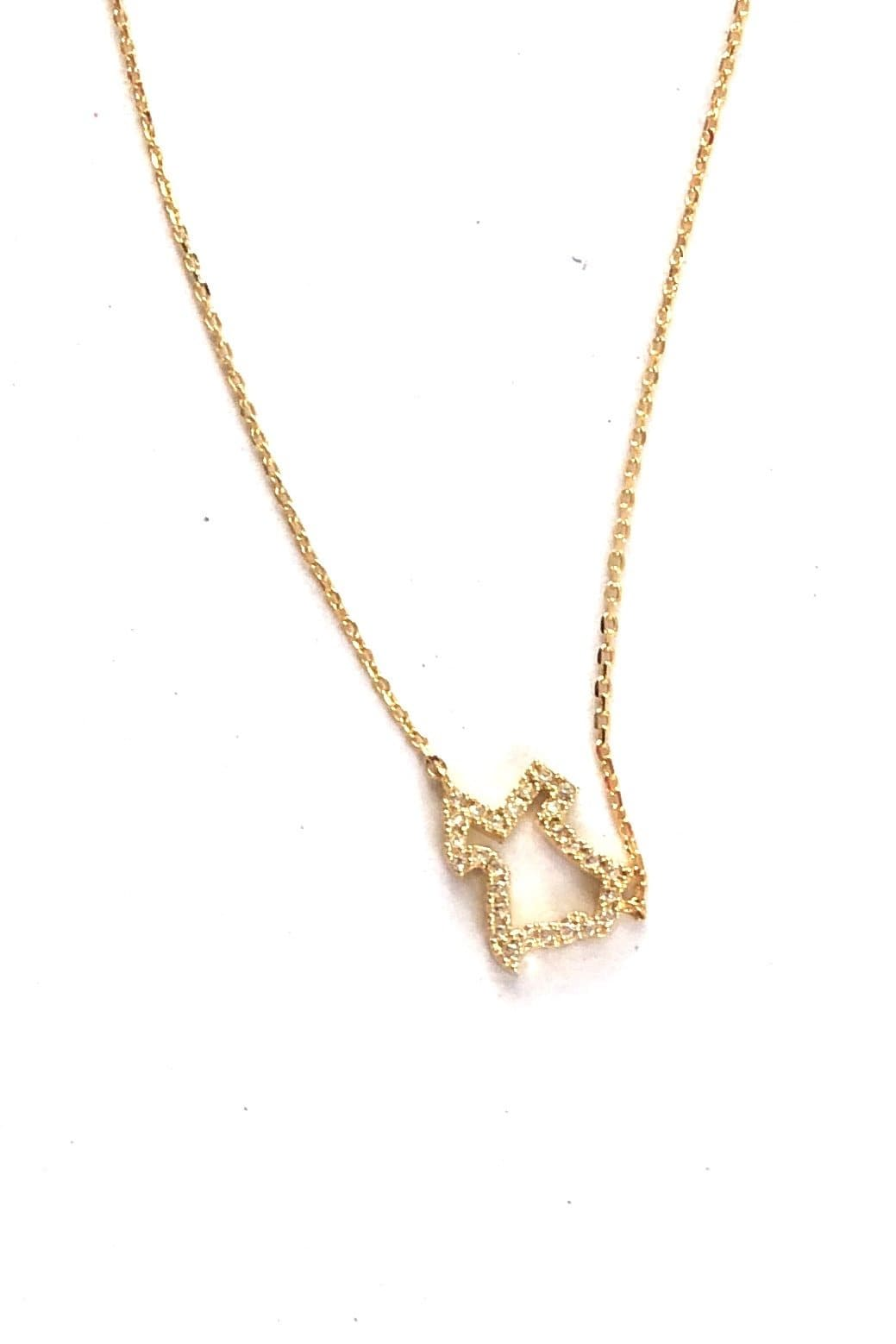 NECKLACE Texas State Line Necklace - Chloe Dao