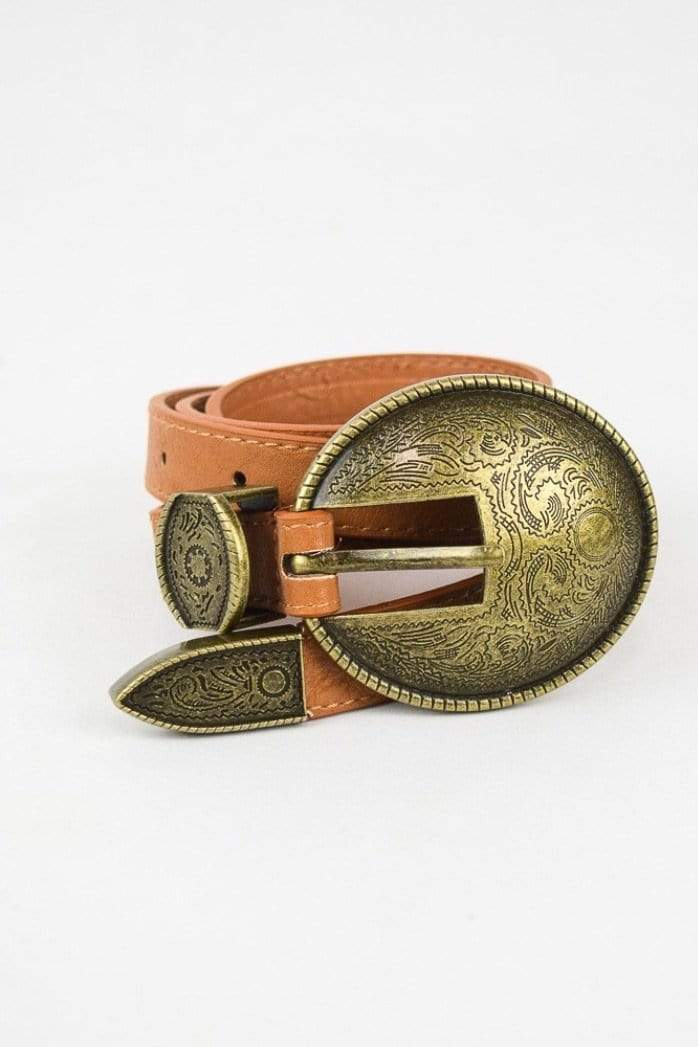 Oval Embossed Belt