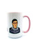 MUGS RBG Mug in Pink - 15oz Limited Edition - Chloe Dao