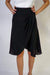 SKIRT Trixie Knee Skirt Black - Chloe Dao
