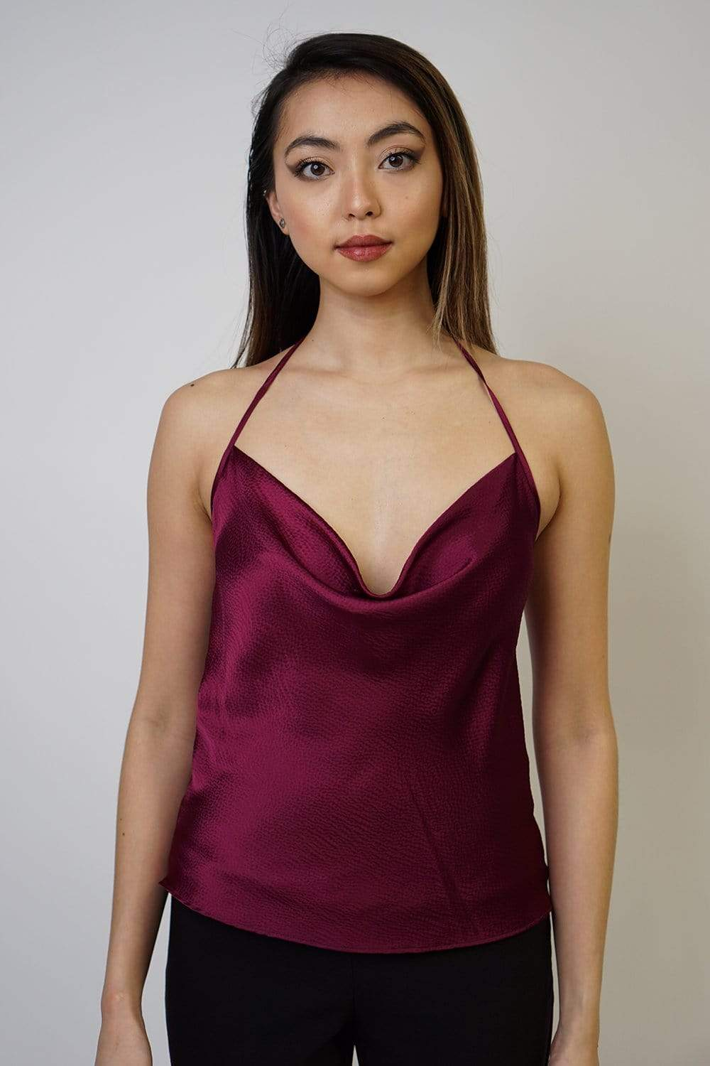 TOP Colina Silk Berry - Chloe Dao