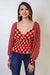 TOP Gingham Balloon Sleeve Top - Chloe Dao