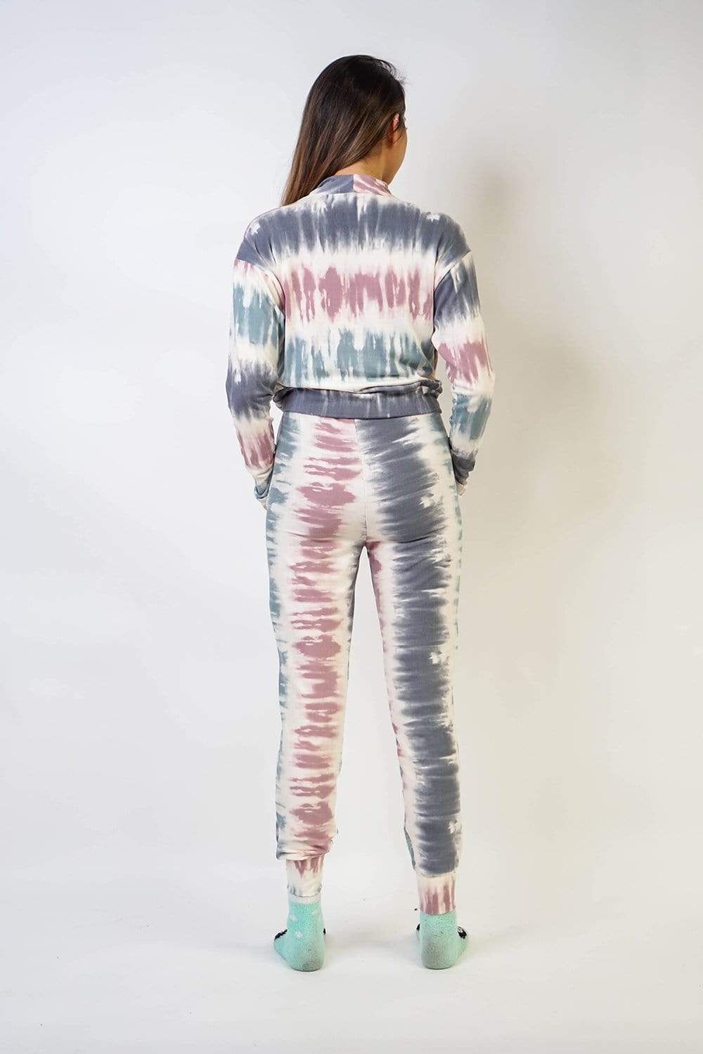 TOP Tie Dye Leisure Set Top - Chloe Dao