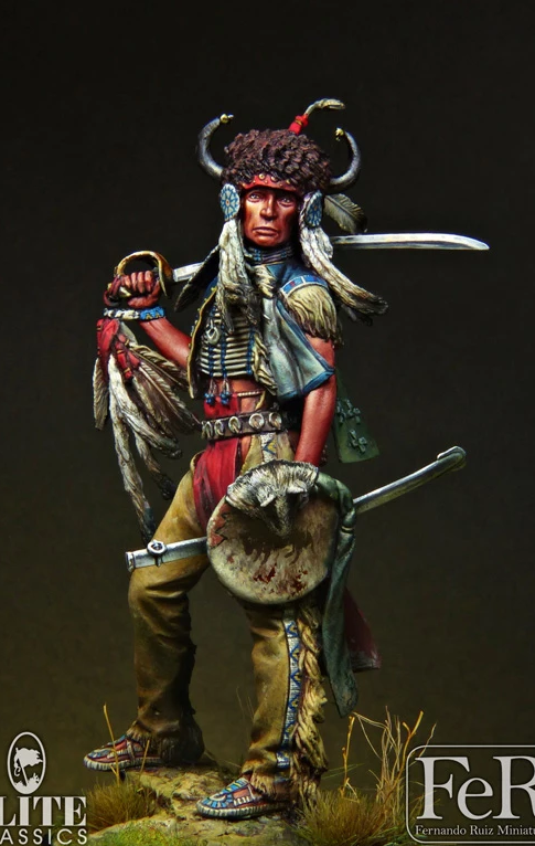 Sioux Dakota Warrior, 1876