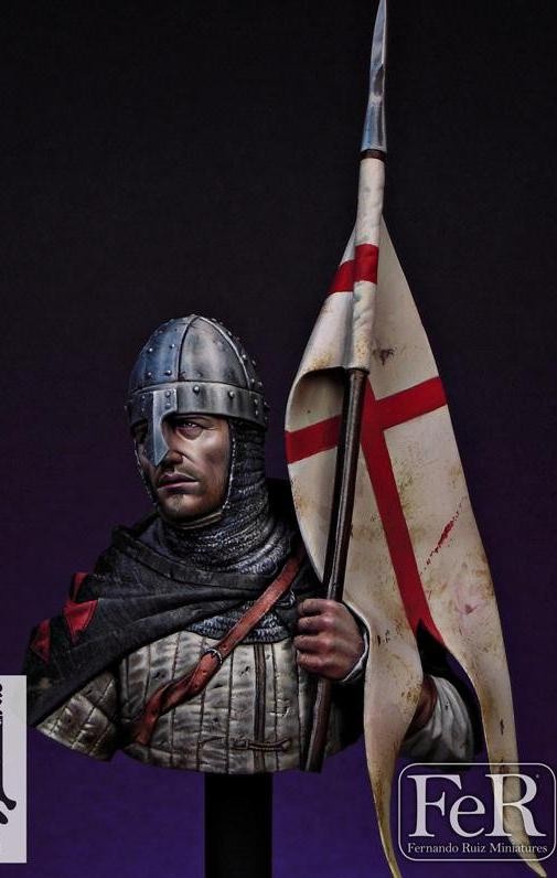 Knight Templar, Holy Land, 1120