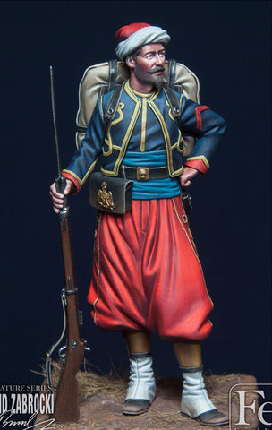 Zouave of the Imperial Guard, Crimea, 1855