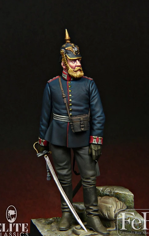Prussian Foot Guard Hauptman, 1870