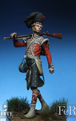 Private, 42nd Highlanders (Black Watch), Crimea, 1854