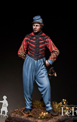 Spahi Officer, Crimea, 1855