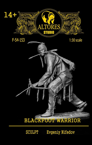 Blackfoot Warrior -54mm