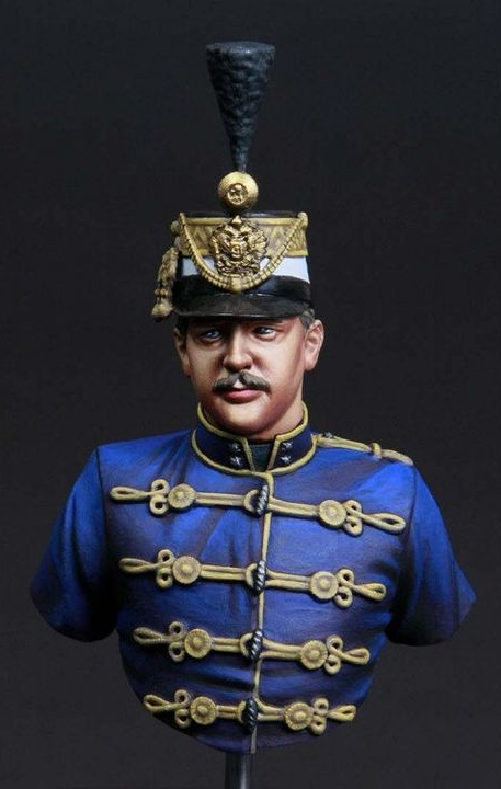 Austro-Hungarian Hussar Officer, WWI, VOL 1 - 1:16 Bust