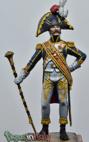 Jean Nicolas Senot, Drum Major of the 1st Guard Grenadier