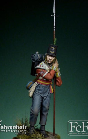 28th Regiment of Foot Sergeant, Quatre Bras, 1815