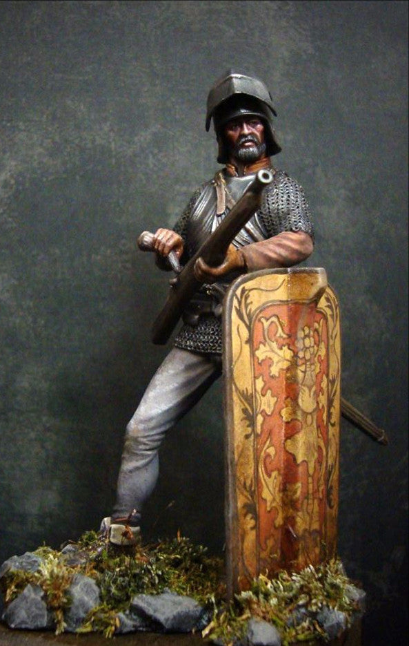 The shooter with Arquebus 15th century