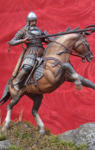 Mounted Russian Warrior, 14th Cent