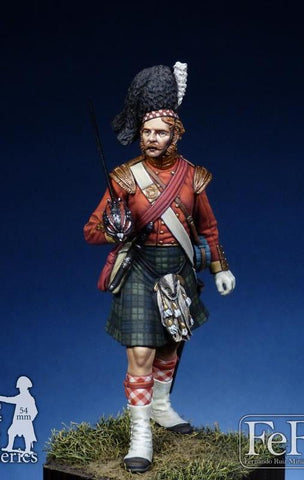 Officer, 93rd Regiment Sutherland Highlanders, 1854