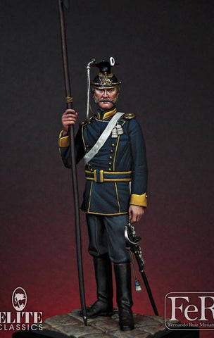 Trooper, 11th Reg. of Uhlans  (2nd Brandenburg)