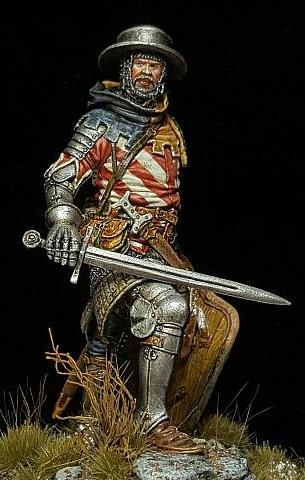 European warrior of 1410-1415