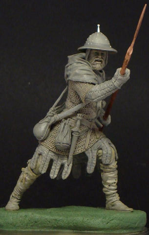 Medieval Infantryman, 13th Cent.
