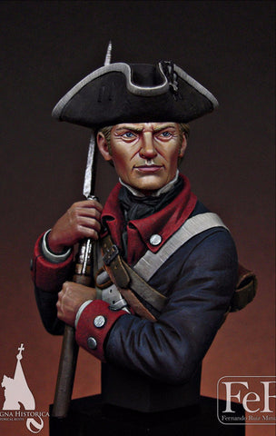 Continental Infantryman, 1st Maryland, 1781