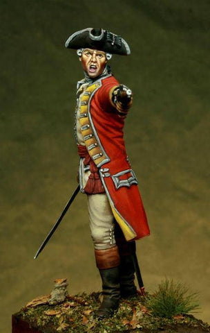 British Officer 35 Reg,  sec XVIII