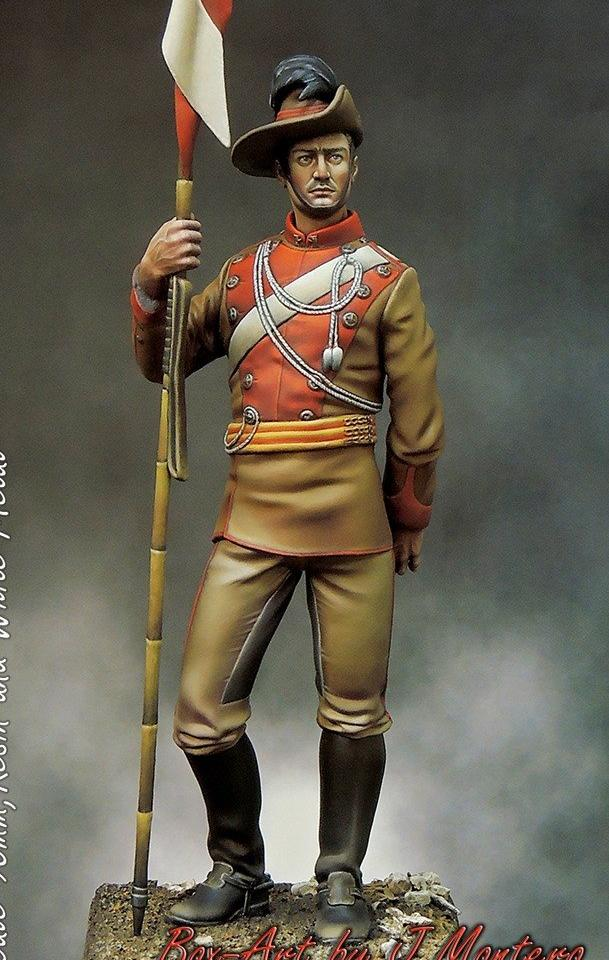 NSW Lancer, Boer War - 90mm