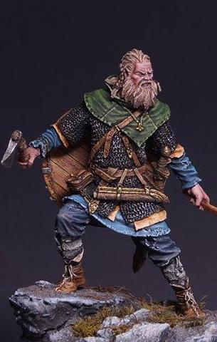 Scandinavian Warrior 9th-10th century