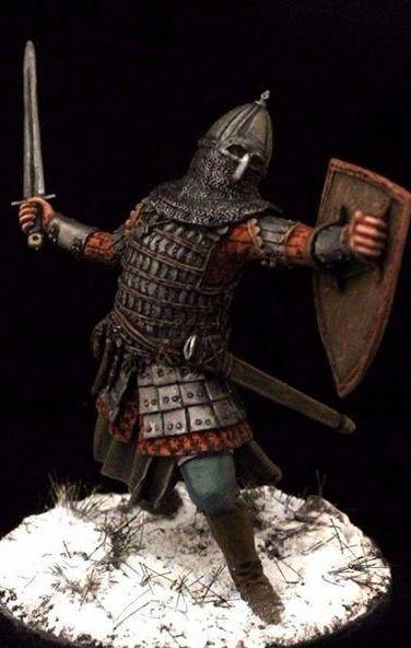 Russian Warrior, Rus 13th century