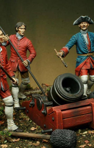 French Company of Cannoniers-Bombardiers French & Indian War, 1754-1763