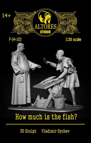 "Medieval Market ""How much is the fish?"" - 54mm"