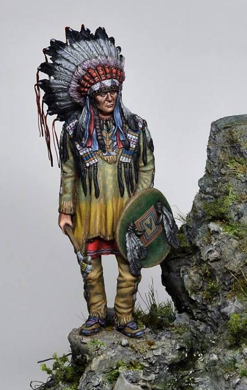 Sioux warrior