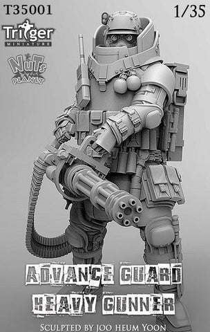 Advance Guard Heavy Gunner (1/35)