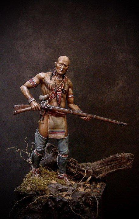 Cherokee Warrior, 18th century
