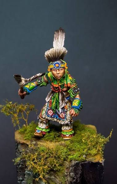 Pow Wow Dancer- Child