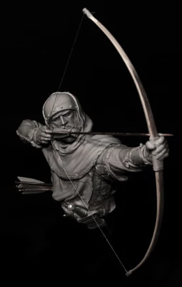 Archer Veteran, 15th century