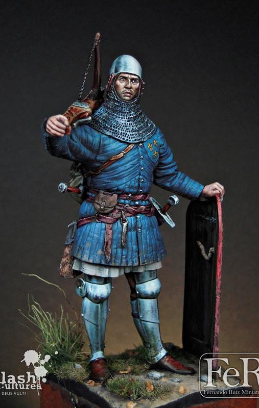 French Crossbowman, Formigny, 1450