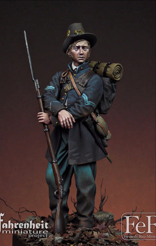 Corporal 19th Indiana Volunteer Infantry Regiment Iron Brigade, 1862