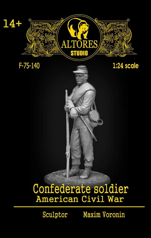 Confederate Soldier, American Civil War