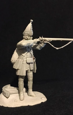 Grenadier, 44th Rgt of Foot, English Army, 18th Cent