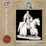Horse knight of the 13th century