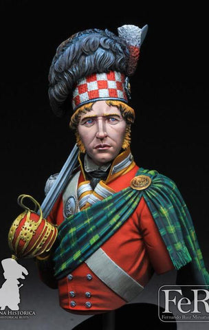 92nd Regiment of Foot, Gordon Highlanders Waterloo, 1815