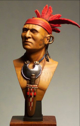 Mohawk Warrior Chieftain 1755