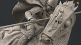 Roman Auxilia Cataphract Diorama (75mm)